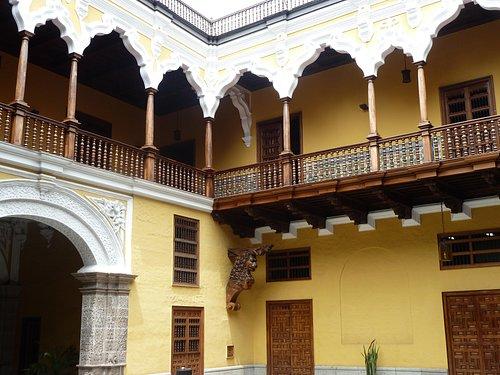 Mudejar arches on courtyard 2nd floor