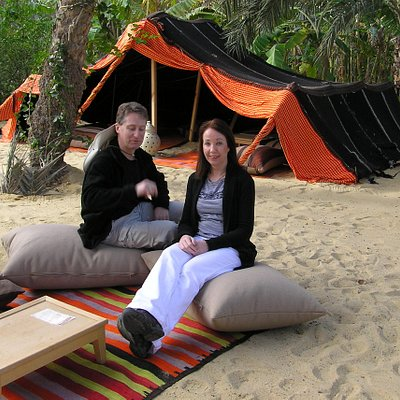 Chilled - part of the lounge bit of the experience