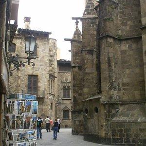 Las Ramblas - old town