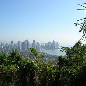 Cerro Ancon view of Panama City