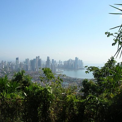 Cerro Ancon view of Panama City