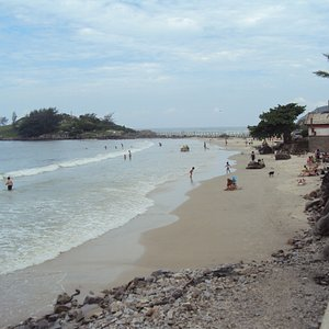 2.-Armaçao beach: el muelle