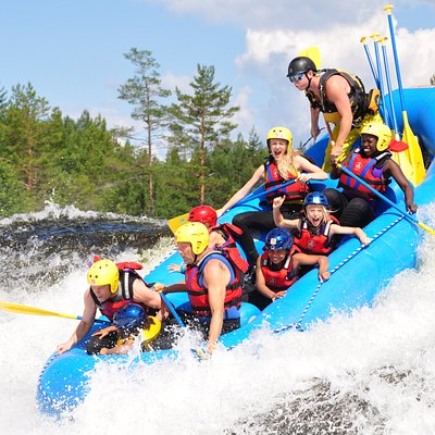Rafting trips twice a day all summer long