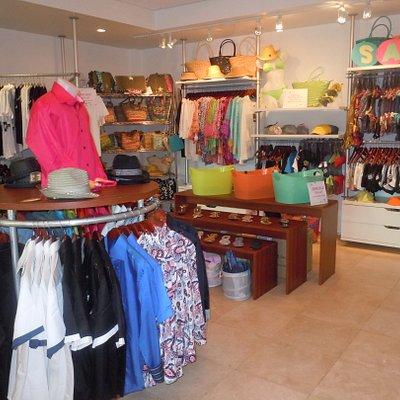 Inside our bright & fun store!