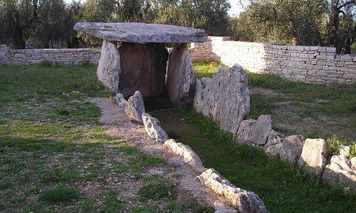 Monumento megalitico funerario risalente all'età del bronzo