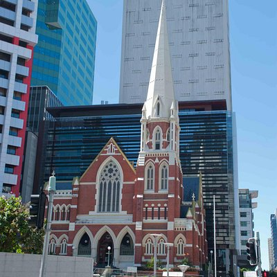 The lovely Albert Street Uniting Church