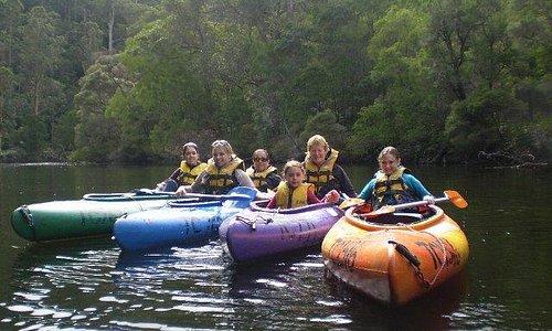 Canoeing on the Warren River Pemberton