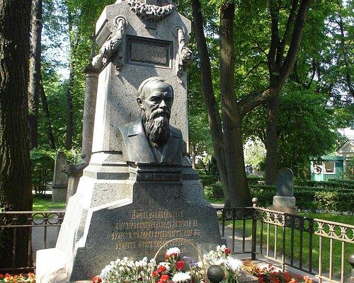 Dostoevsky's grave