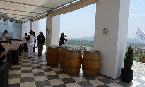 Indomita restaurant patio