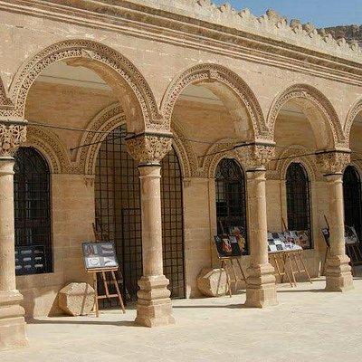 Upper court of Mardin Muesum