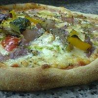 pizzas a la piedra