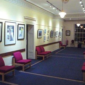 View of Higgin Gallery