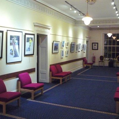 View of Higgin Gallery