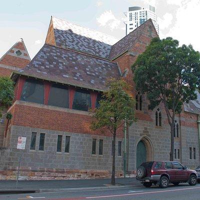 Alongside Webber House
