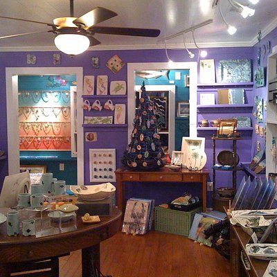 One of our five rooms of art and gifts