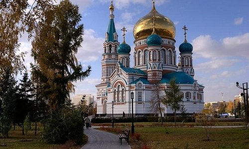 Омский Успенский собор