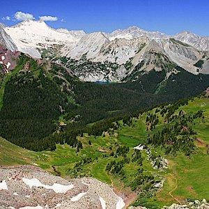 View from Buckskin Pass
