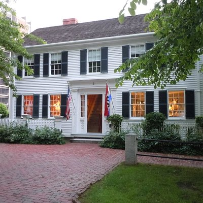 Cyrus Dallin Art Museum located in the Jefferson Cutter House in Arlington Center.
