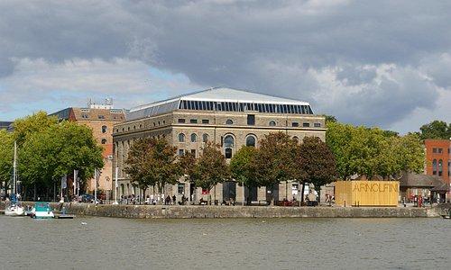 The Arnolfini Centre in Bristol City Docks