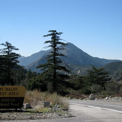 Mt Baldy Road - rest area