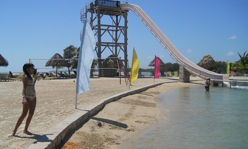 Slide at Cucumber Beach