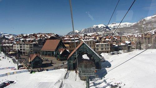 Leaving Mountain Village Gondola Stop