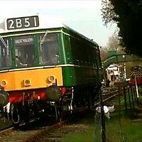 Class 121 railcar W55033 (dieselgala 2012)