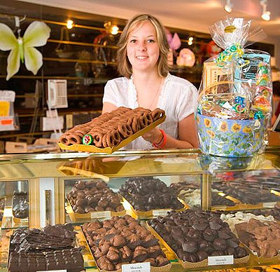Mention TripAdvisor and receive a free chocolate sample