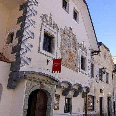 Šivec House in Radovljica's old town