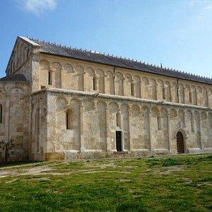 Basilica di San Gavino, vista da Atrio Comita