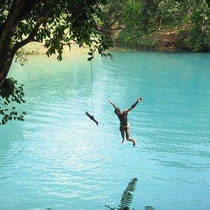 En exclusivite : la laguna de Cristal, loin des sites touristiques...