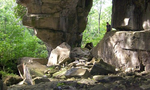 The Largest cave at Greig`s Caves