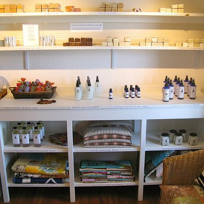 Lovely soaps and lavender products