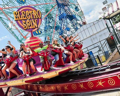 Luna Park at Coney Island - Electro Spin