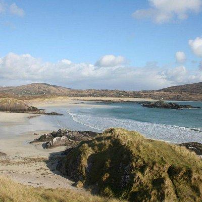 Derrynane Beach from Abbey Island