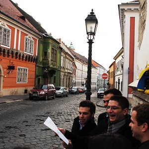 Tailor made sightseeing - singing in the Buda Castle