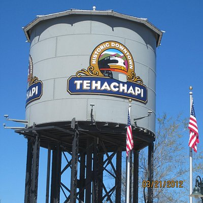 Watertower next to Railroad Museum