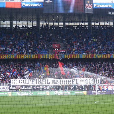 FC Basel's most passionate fans, or