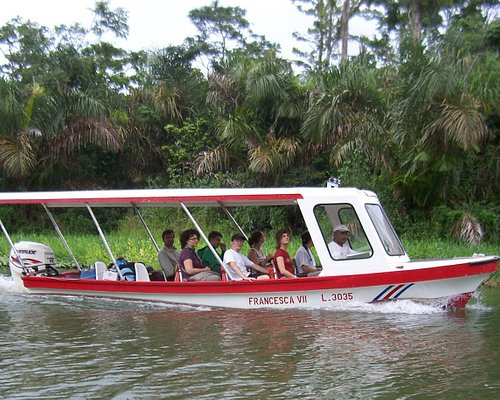 One of our four tour boats