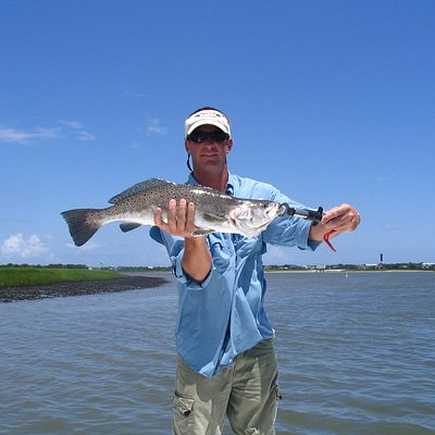 Capt. Frye with seatrout