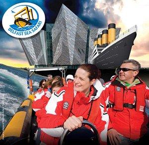 Titanic sightseeing speedboat tours!