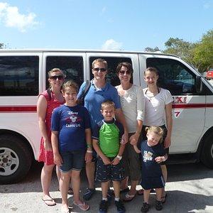 Family taxi tour