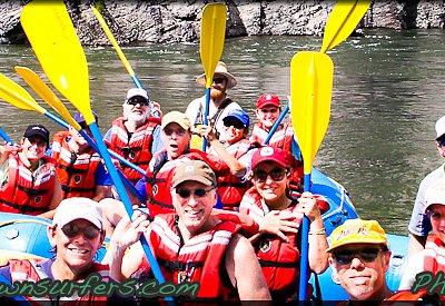 Whitewater, Scenic Raft Trips