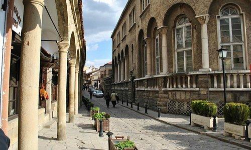Narrow but charming streets