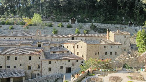 Celle of St Francis, outside of Cortona
