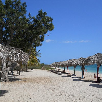Playa Ancon Beach near Bus stop
