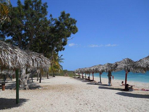 Playa Ancon Beach near Bus stop