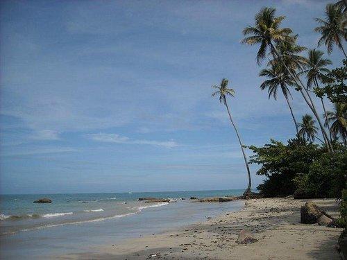 Playas solitarias y de aguas calidas