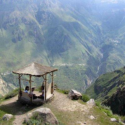 Blick über den Colca Canyon