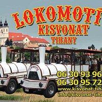 Lokomotiv Road Train Tihany Lake Balaton Hungary